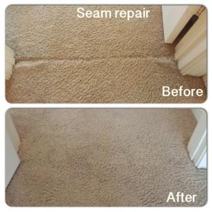 Seam Split Carpet Repair Houston Carpet Stretching